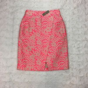 J. Crew Crossover Pencil Skirt Size 4 NWT